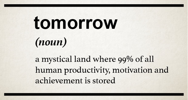 Procrastination is the Enemy of a Great Dancer!