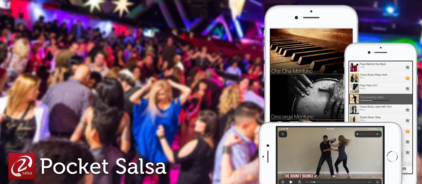 Pocket Salsa: Best Salsa Dance Application for iOS and Android